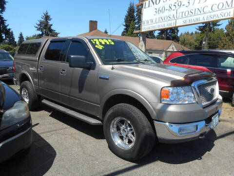 2004 Ford F-150 for sale at Lino's Autos Inc in Vancouver WA