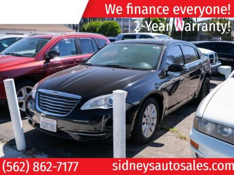 2014 Chrysler 200 for sale at Sidney Auto Sales in Downey CA