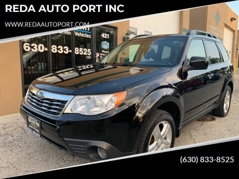 2010 Subaru Forester for sale at REDA AUTO PORT INC in Villa Park IL