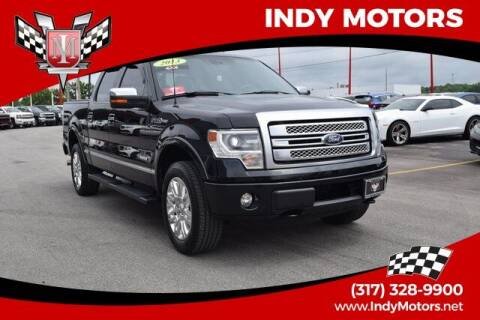2013 Ford F-150 for sale at Indy Motors Inc in Indianapolis IN