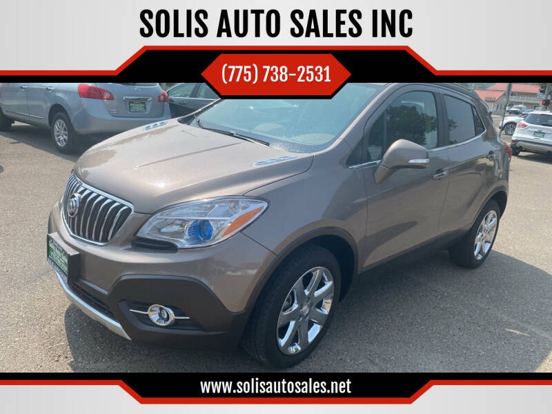 2014 Buick Encore for sale at SOLIS AUTO SALES INC in Elko NV