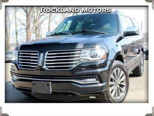2016 Lincoln Navigator for sale at Rockland Automall - Rockland Motors in West Nyack NY