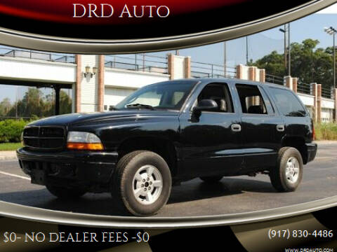 2002 Dodge Durango for sale at DRD Auto Market in Flushing NY
