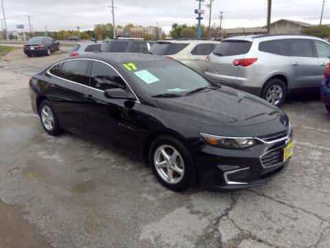 2017 Chevrolet Malibu for sale at Regency Motors Inc in Davenport IA