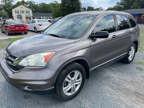 2011 Honda CR-V for sale at LAURINBURG AUTO SALES in Laurinburg NC