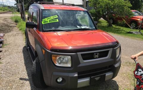 2003 Honda Element for sale at Richard C Peck Auto Sales in Wellsville NY
