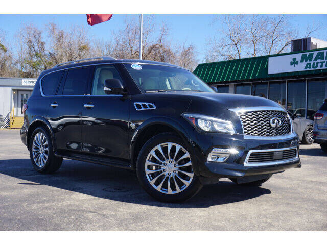 2016 Infiniti QX80 for sale at Maroney Auto Sales in Humble TX