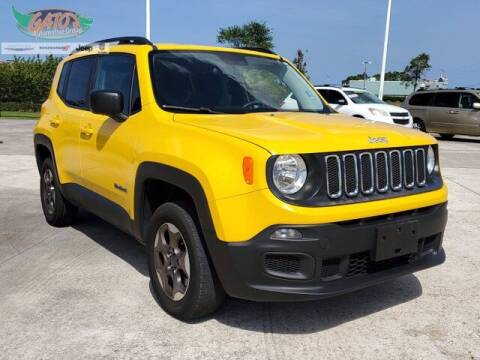 2017 Jeep Renegade for sale at GATOR'S IMPORT SUPERSTORE in Melbourne FL