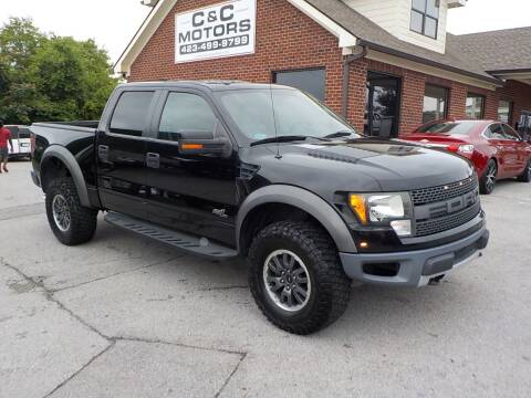 2011 Ford F-150 for sale at C & C MOTORS in Chattanooga TN