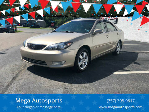 2005 Toyota Camry for sale at Mega Autosports in Chesapeake VA