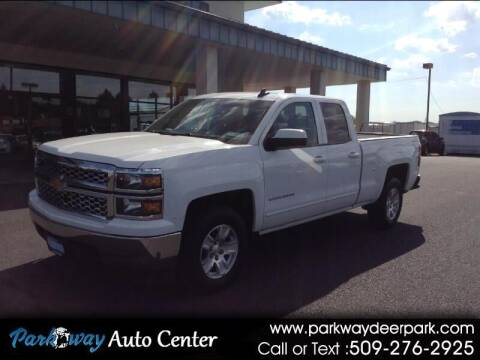 2015 Chevrolet Silverado 1500 for sale at PARKWAY AUTO CENTER AND RV in Deer Park WA