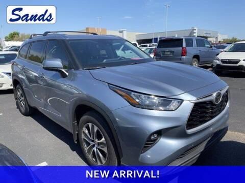 2020 Toyota Highlander for sale at Sands Chevrolet in Surprise AZ