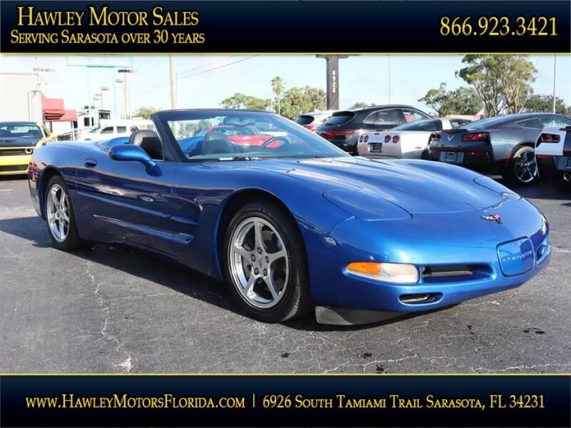 2002 Chevrolet Corvette for sale at Hawley Motor Sales in Sarasota FL