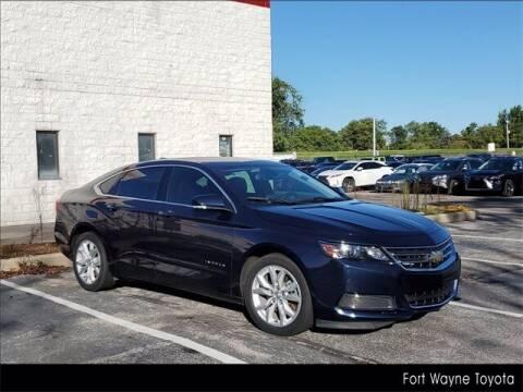 2017 Chevrolet Impala for sale at BOB ROHRMAN FORT WAYNE TOYOTA in Fort Wayne IN