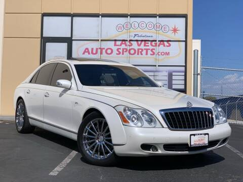 2008 Maybach 57 for sale at Las Vegas Auto Sports in Las Vegas NV