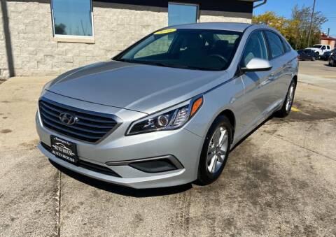 2016 Hyundai Sonata for sale at Auto House of Bloomington in Bloomington IL