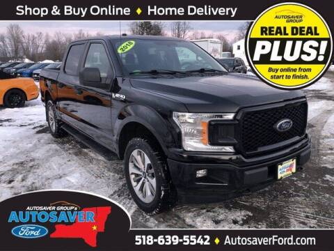 2018 Ford F-150 for sale at Autosaver Ford in Comstock NY