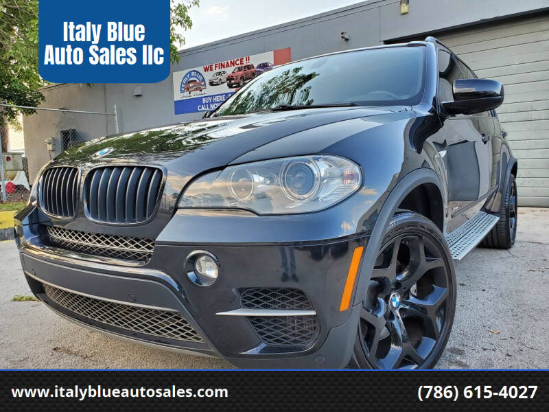 2012 BMW X5 for sale at Italy Blue Auto Sales llc in Miami FL