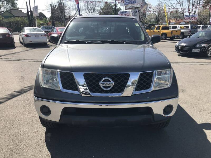 2005 Nissan Frontier for sale at EXPRESS CREDIT MOTORS in San Jose CA