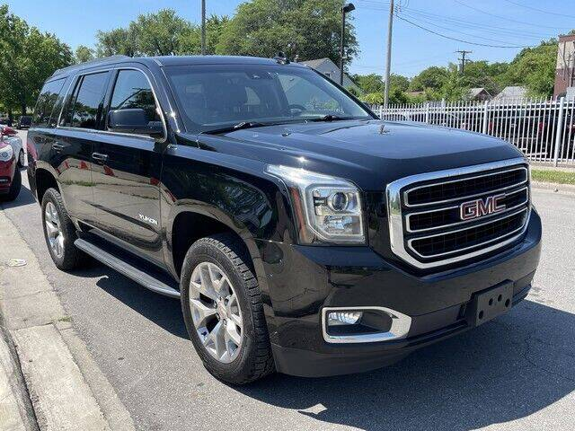 2017 GMC Yukon for sale at SOUTHFIELD QUALITY CARS in Detroit MI