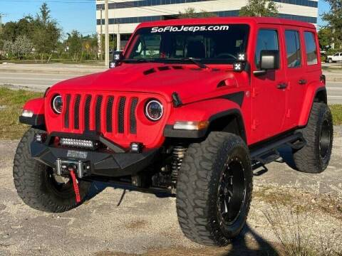 2018 Jeep Wrangler Unlimited for sale at South Florida Jeeps in Fort Lauderdale FL