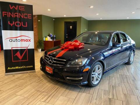 2014 Mercedes-Benz C-Class for sale at AutoMax in West Hartford CT