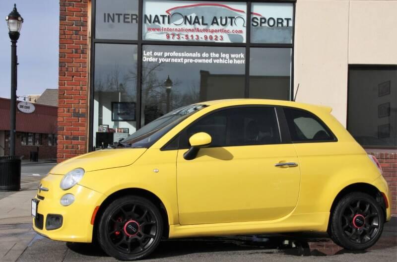 2012 FIAT 500 for sale at INTERNATIONAL AUTOSPORT INC in Pompton Lakes NJ