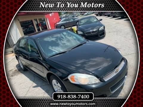2014 Chevrolet Impala Limited for sale at New To You Motors in Tulsa OK