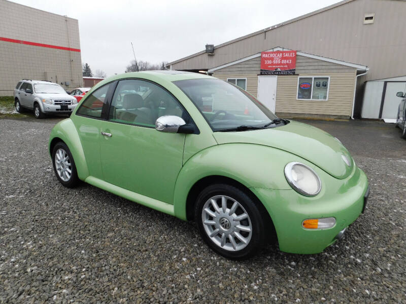2005 Volkswagen New Beetle for sale at Macrocar Sales Inc in Akron OH