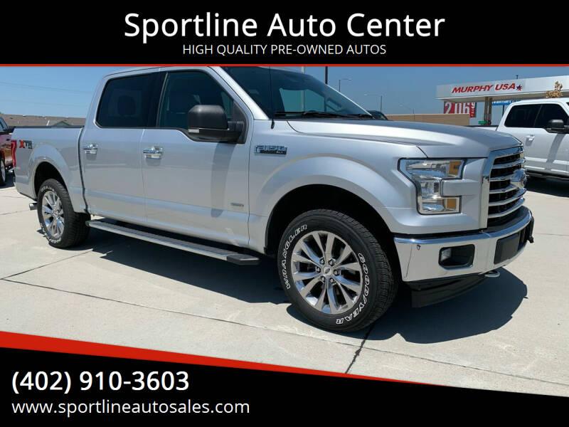 2017 Ford F-150 for sale at Sportline Auto Center in Columbus NE