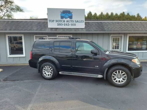 2008 Nissan Pathfinder for sale at Top Notch Auto Sales LLC in Bluffton IN