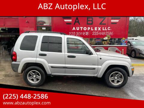 2004 Jeep Liberty for sale at ABZ Autoplex, LLC in Baton Rouge LA