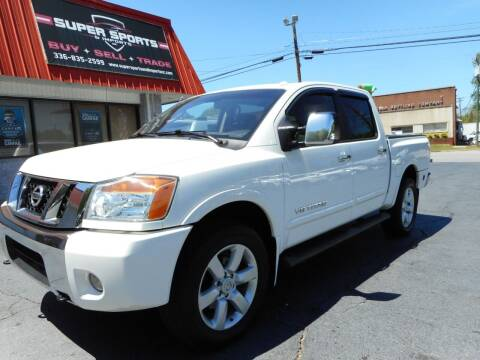 2011 Nissan Titan for sale at Super Sports & Imports in Jonesville NC