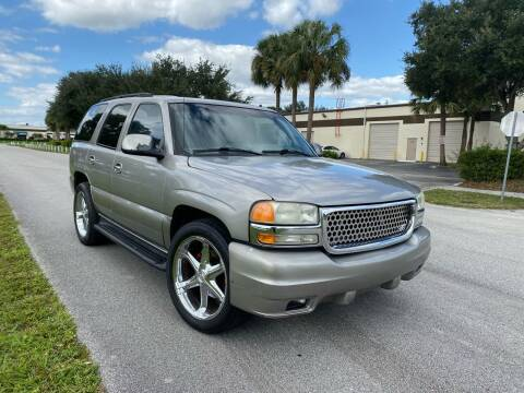 2002 GMC Yukon for sale at Premier Auto Group of South Florida in Wellington FL