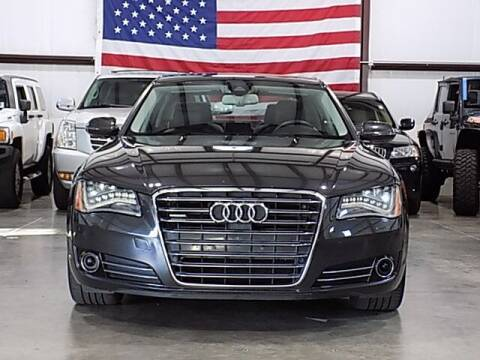 2011 Audi A8 L for sale at Texas Motor Sport in Houston TX