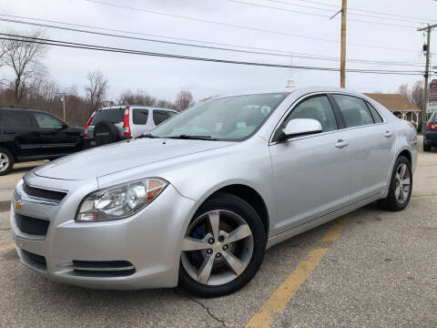 2011 Chevrolet Malibu for sale at J's Auto Exchange in Derry NH