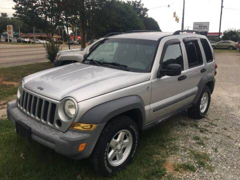 2005 Jeep Liberty for sale at Deme Motors in Raleigh NC