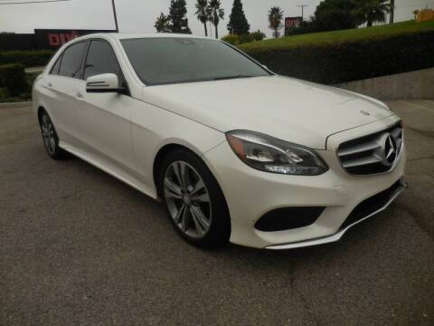 2014 Mercedes-Benz E-Class for sale at ARAX AUTO SALES in Tujunga CA