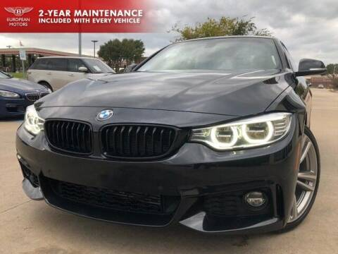 2016 BMW 4 Series for sale at European Motors Inc in Plano TX