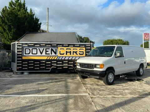 2007 Ford E-Series Cargo for sale at DOVENCARS CORP in Orlando FL
