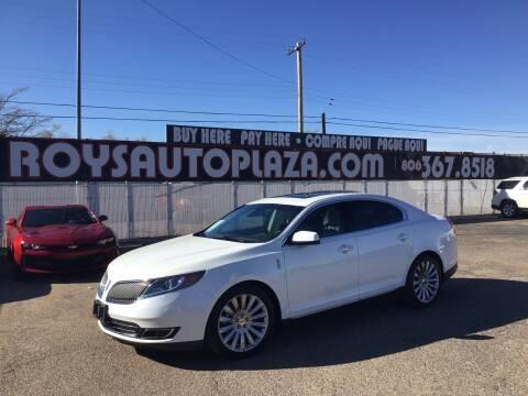 2014 Lincoln MKS for sale at Roy's Auto Plaza 2 in Amarillo TX