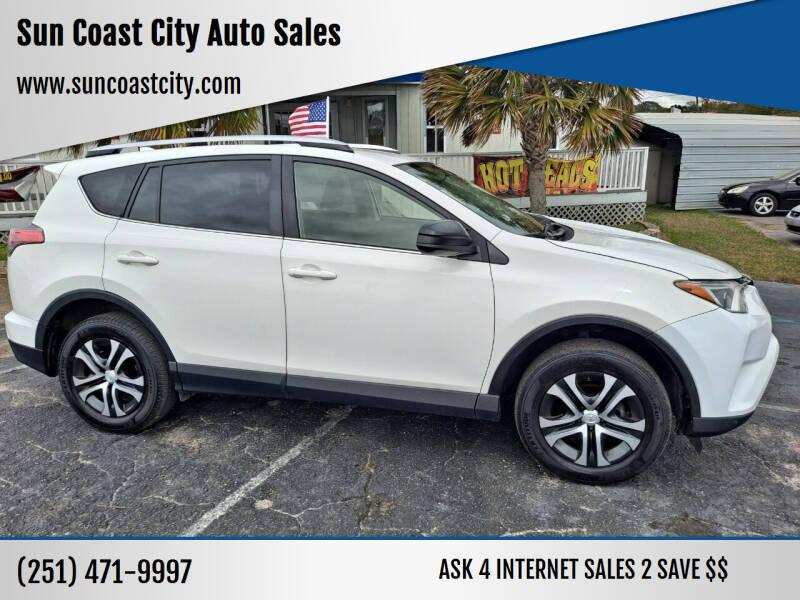 2016 Toyota RAV4 for sale at Sun Coast City Auto Sales in Mobile AL