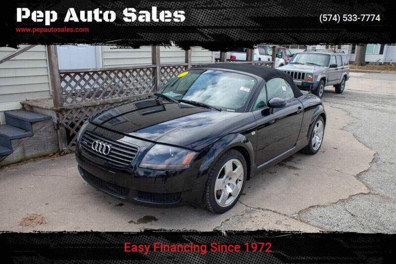 2001 Audi TT for sale at Pep Auto Sales in Goshen IN