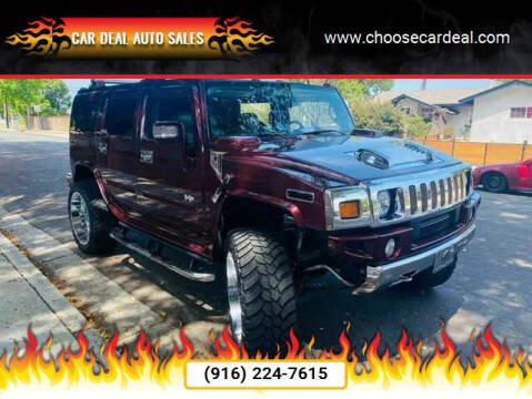 2006 HUMMER H2 for sale at Car Deal Auto Sales in Sacramento CA