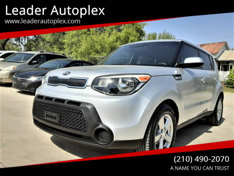 2015 Kia Soul for sale at Leader Autoplex in San Antonio TX
