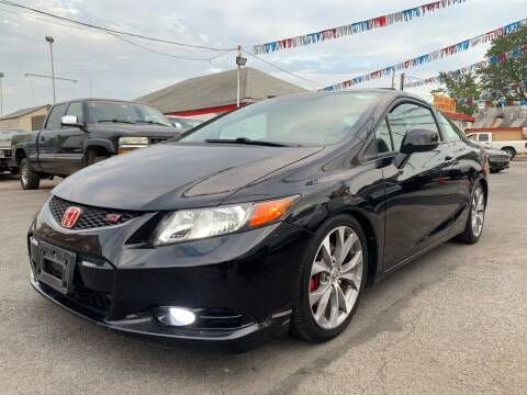 2012 Honda Civic for sale at PELHAM USED CARS & AUTOMOTIVE CENTER in Bronx NY