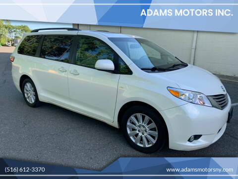 2017 Toyota Sienna for sale at Adams Motors INC. in Inwood NY