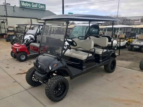 2014 Yamaha Concierge 6 Passenger Gas Lift for sale at METRO GOLF CARS INC in Fort Worth TX