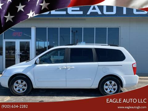 2009 Kia Sedona for sale at Eagle Auto LLC in Green Bay WI