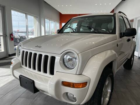 2004 Jeep Liberty for sale at Evolution Autos in Whiteland IN